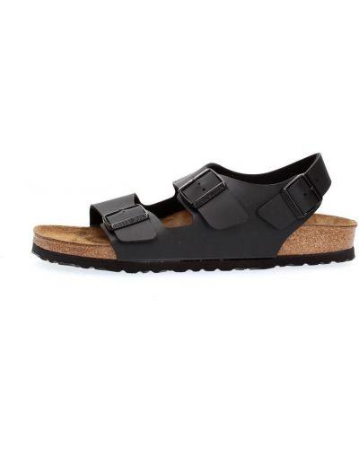 Czarne sandały Birkenstock
