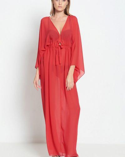 Пляжное платье красный осеннее Donatello Viorano