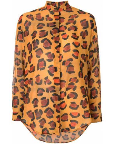 Рубашка с длинным рукавом с принтом оверсайз Tata Naka
