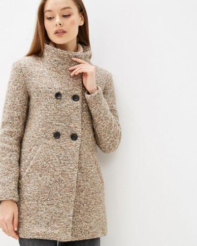Пальто бежевое пальто Only