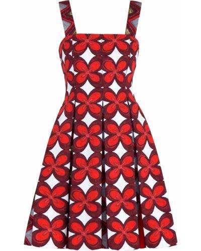 Платье расклешенное хлопковое Valentino