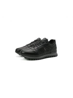 Черные кроссовки немецкие Bogner