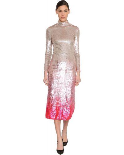 Платье с открытой спиной с пайетками Temperley London