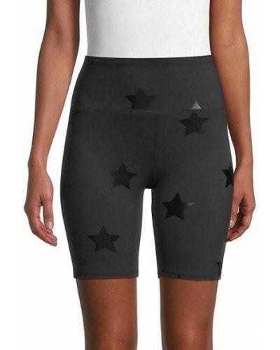 Со звездами черные шорты для бега Nanette Lepore