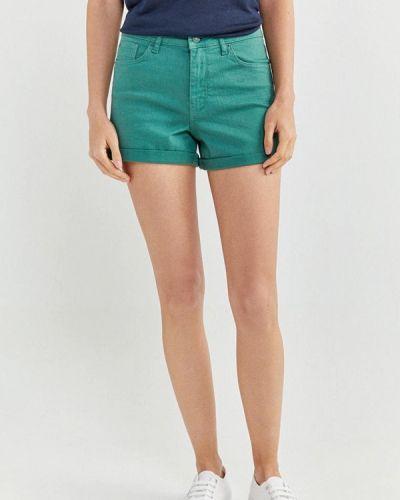 Зеленые повседневные шорты Springfield