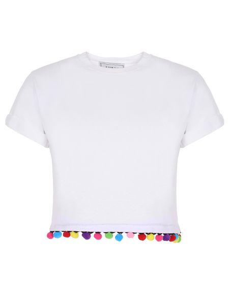 Топ короткий белый Forte Couture