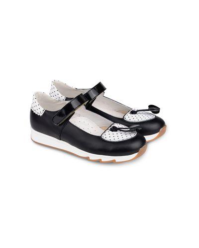Туфли черные всесезонный Tapiboo