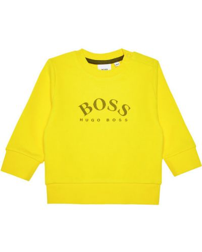 Żółta bluza Boss