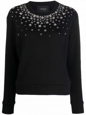 Czarna bluza z długimi rękawami Giambattista Valli