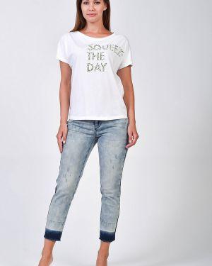 Хлопковые джинсы Taifun