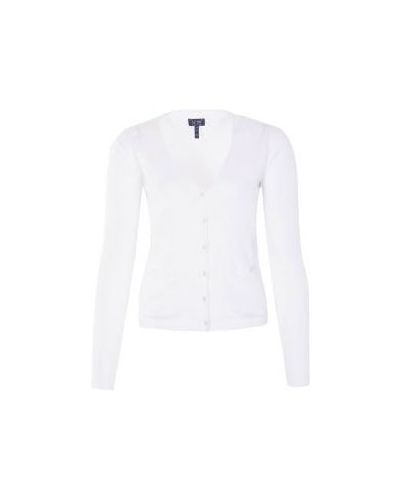 Кардиган джинсовый белый Armani Jeans
