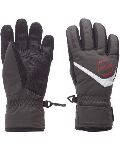 Серые перчатки Ziener
