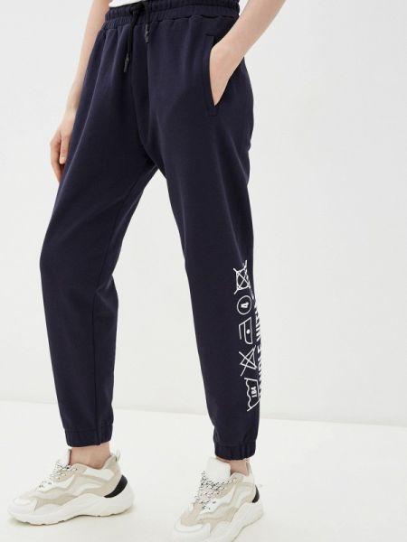 Синие спортивные брюки J.b4