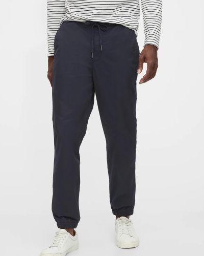 Спортивные брюки - синие Gap
