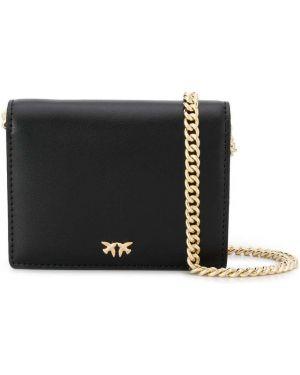 Черная сумка на цепочке Pinko