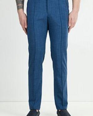 Синие классические брюки Zilli