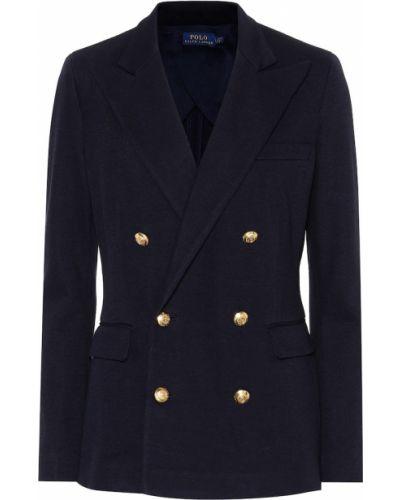 Пиджак двубортный из вискозы Polo Ralph Lauren
