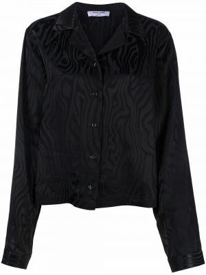 Рубашка с длинным рукавом - черная Opening Ceremony