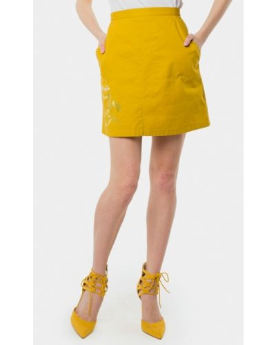 Желтая юбка Mr520