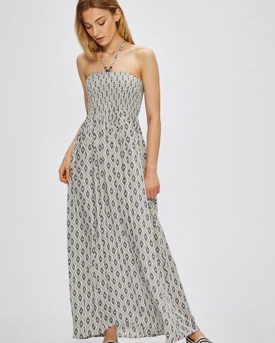 Расклешенное платье макси Pia Rossini
