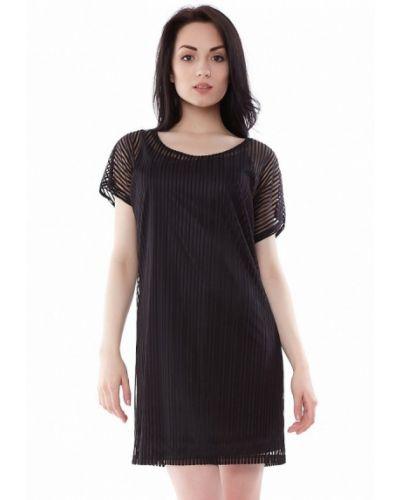 Черное повседневное платье Vergans