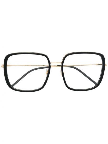 Złote czarne okulary Gigi Studios