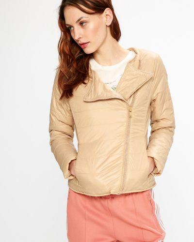 Стеганая куртка с карманами утепленная Sh