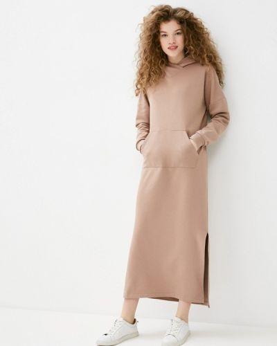 Бежевое платье Mari Vera