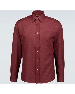 Koszula klasyczna długa zapinane na guziki Missoni