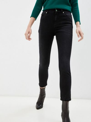Зауженные джинсы - черные Iblues