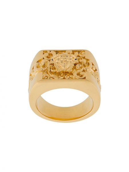 Кольцо с логотипом Versace