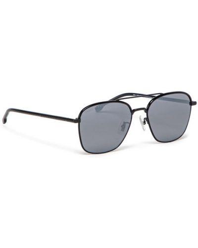 Czarne okulary Hugo