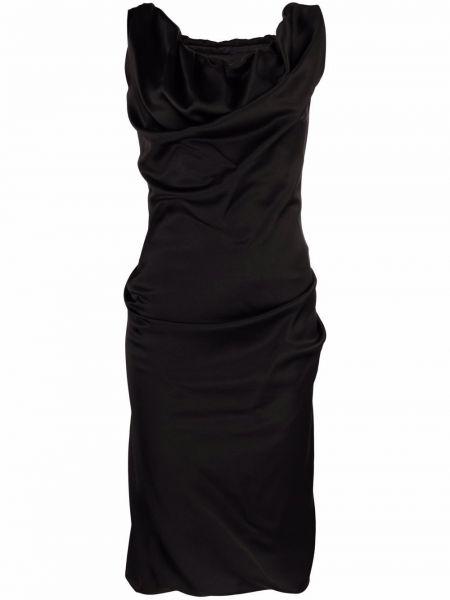 Платье трапеция - черное Vivienne Westwood