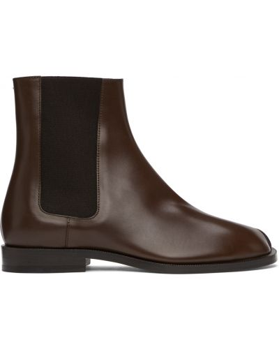 Белые ботинки на шпильке Maison Margiela