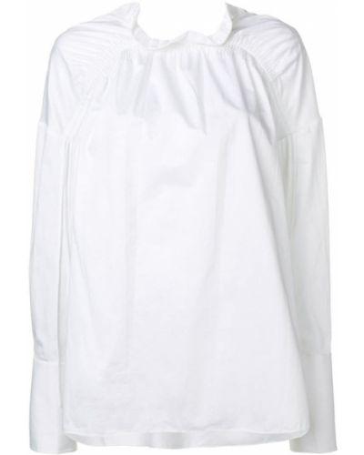 Блузка с длинным рукавом с оборками на пуговицах Teija