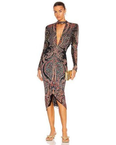Платье миди - черное Rococo Sand