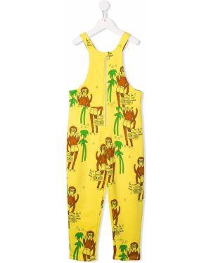 Желтые брюки Mini Rodini