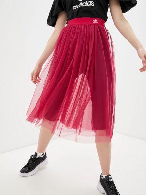 Розовая юбка Adidas Originals
