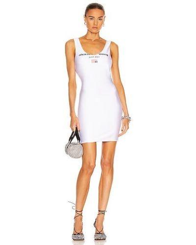 Повседневное платье мини - белое T By Alexander Wang