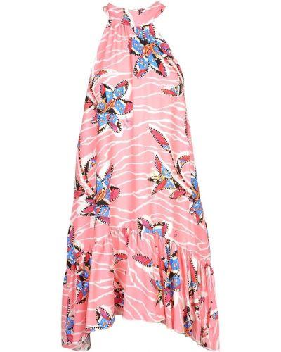 Różowa sukienka Stella Jean