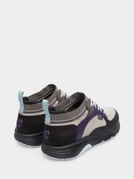 Кожаные кроссовки - серые Camper