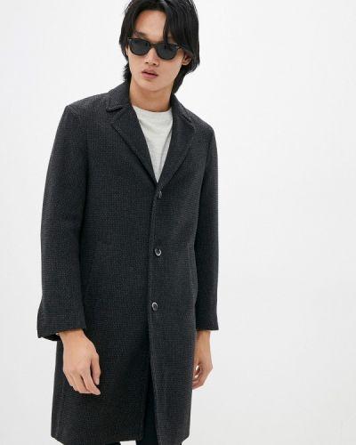 Серое демисезонное пальто Sisley