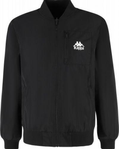 Черная куртка осенняя Kappa