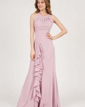 Вечернее платье розовое весеннее Marichuell