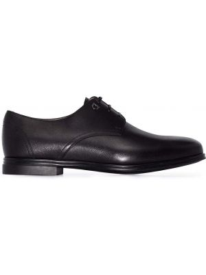 Туфли на каблуке - черные Salvatore Ferragamo