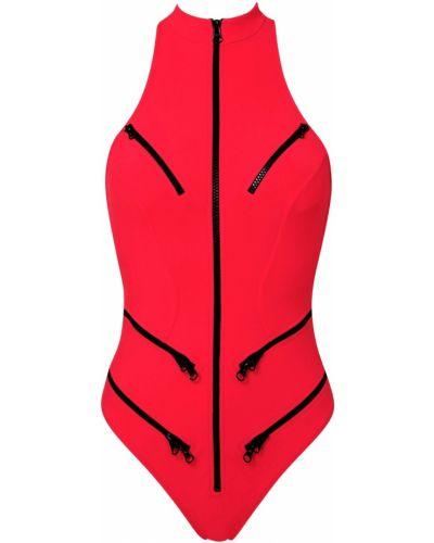 Спортивный купальник с молнией из плотной ткани Agent Provocateur