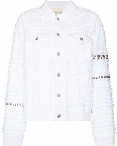 Белая джинсовая джинсовая куртка 1017 Alyx 9sm