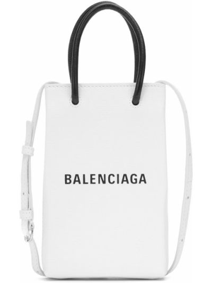 Кожаная сумка шоппер на плечо Balenciaga