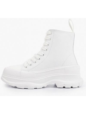Кожаные ботинки - белые Strobbs