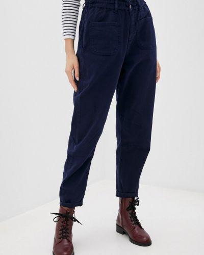 Расклешенные синие джинсы Mossmore